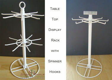 China Hooks Spinner Metal Table Top Display Stands supplier