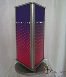 China Graphic Sign Branded Display Stands Counter Top Customize Size And Logo factory