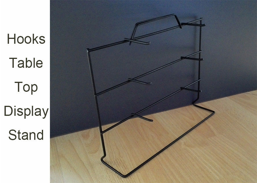 Welded Wire Display Rack For Table Tops , One Side Wire Table Top Display Stands supplier