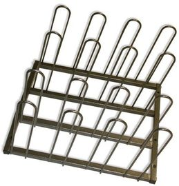 China Metal Display Vinyl Roll Wall Rack / Industrial Wall Mount Vinyl Storage Rack distributor
