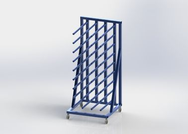 China 5FT Length Vinyl Rolling Industrial Display Stands , Heavy - Duty Display Stands distributor