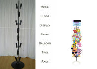 Balloons Tree Floor Display Stands with metal heavy-duty base / 8 Layers Tubular Holder Balloon Metal Display Racks